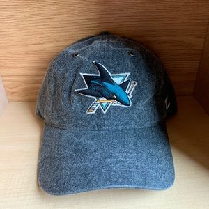 SAMPLE San Jose Sharks California Strap Hat NHL